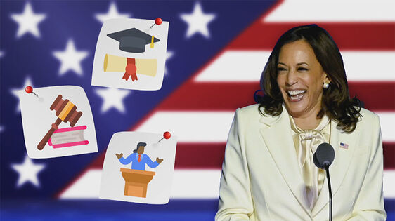 Wie is Kamala Harris?